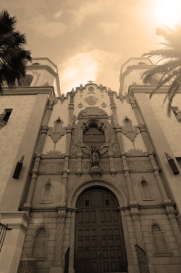 Sepia Look St. Augustine Cathedral